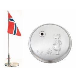 Eik Barn - FLAGGSTANG TINN GRETE H:24cm